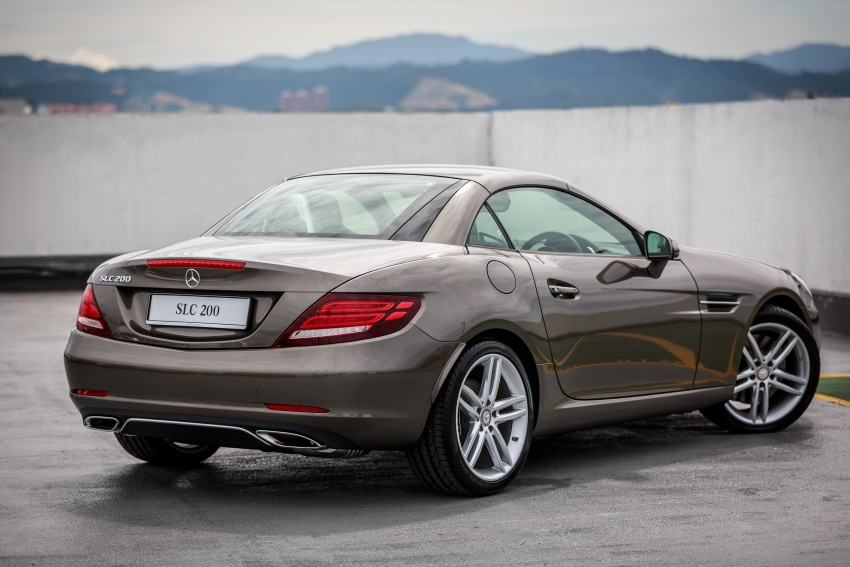 Mercedes-Benz SLC launched in Malaysia – SLC200 at RM398,888, SLC300 AMG Line at RM468,888 Image #555849