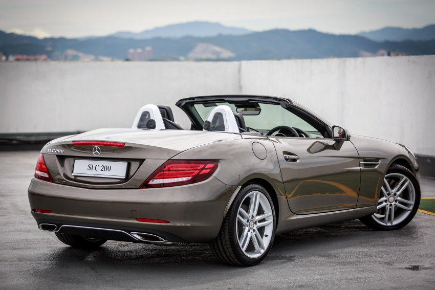 Mercedes-Benz SLC launched in Malaysia – SLC200 at RM398,888, SLC300 AMG Line at RM468,888 Image #555851