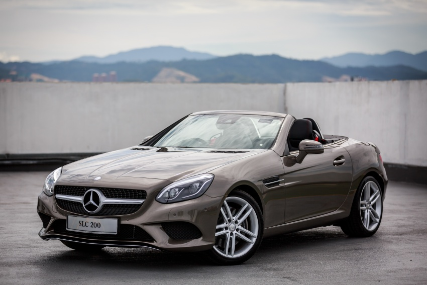Mercedes-Benz SLC launched in Malaysia – SLC200 at RM398,888, SLC300 AMG Line at RM468,888 Image #555852