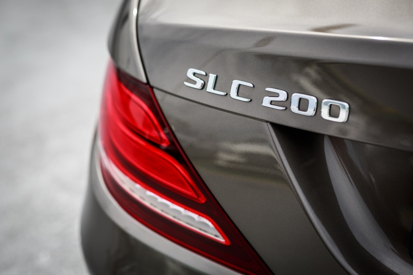 Mercedes-Benz SLC launched in Malaysia – SLC200 at RM398,888, SLC300 AMG Line at RM468,888 Image #555855