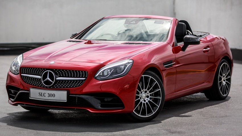 Mercedes-Benz SLC launched in Malaysia – SLC200 at RM398,888, SLC300 AMG Line at RM468,888 Image #555883