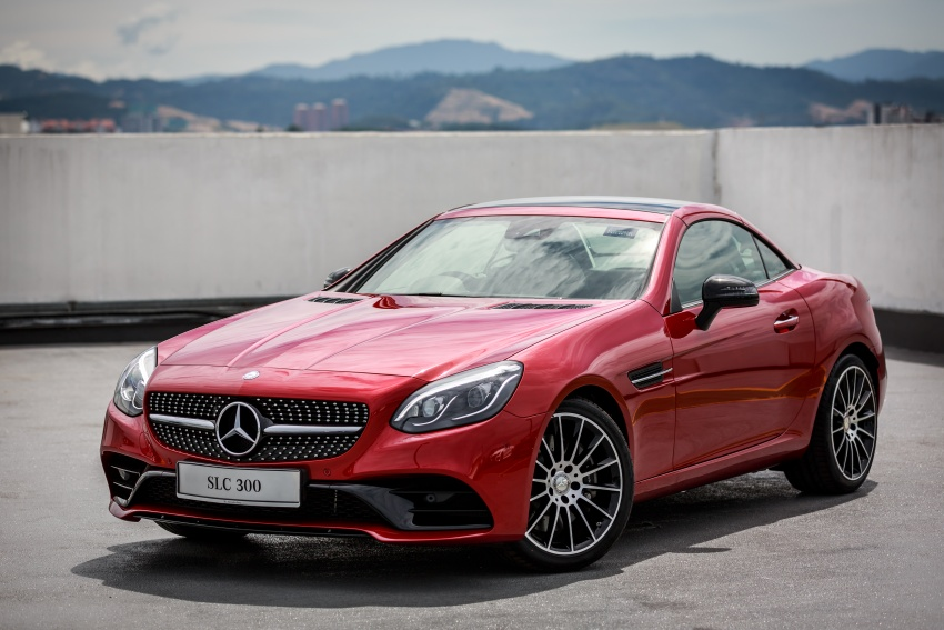Mercedes-Benz SLC launched in Malaysia – SLC200 at RM398,888, SLC300 AMG Line at RM468,888 Image #555884
