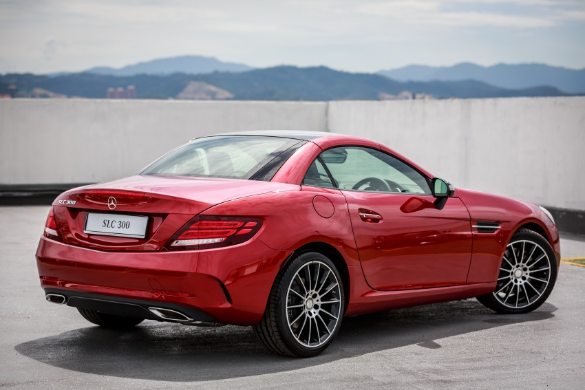 Mercedes-Benz SLC launched in Malaysia – SLC200 at RM398,888, SLC300 AMG Line at RM468,888 Image #555885