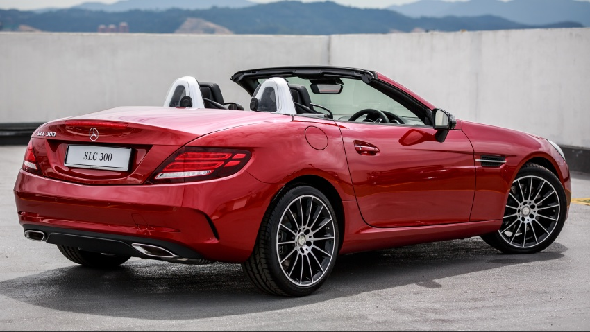 Mercedes-Benz SLC launched in Malaysia – SLC200 at RM398,888, SLC300 AMG Line at RM468,888 Image #555887