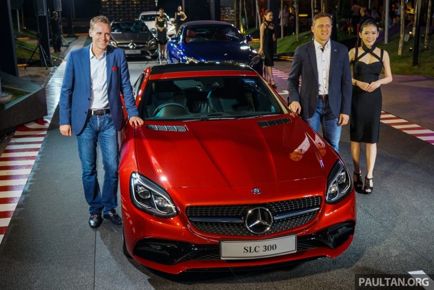 Mercedes-Benz SLC launched in Malaysia – SLC200 at RM398,888, SLC300 AMG Line at RM468,888 Image #556410
