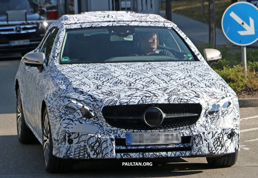SPYSHOTS: Mercedes-Benz E-Class cabriolet spotted Image #549374