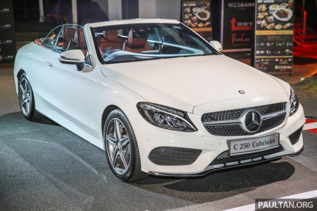 Mercedes Benz C Cl Cabriolet Launched In Malaysia C200 Rm359k C250 Rm389k C300 Rm444k
