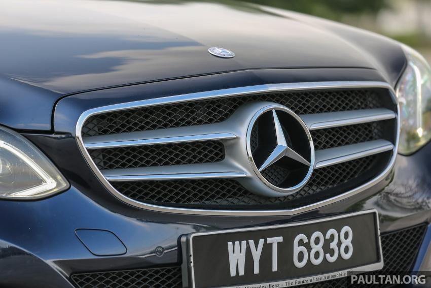 GALLERY: Mercedes-Benz E-Class – W213 vs W212 Paul Tan ...