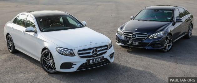 GALLERY: Mercedes-Benz E-Class – W213 vs W212