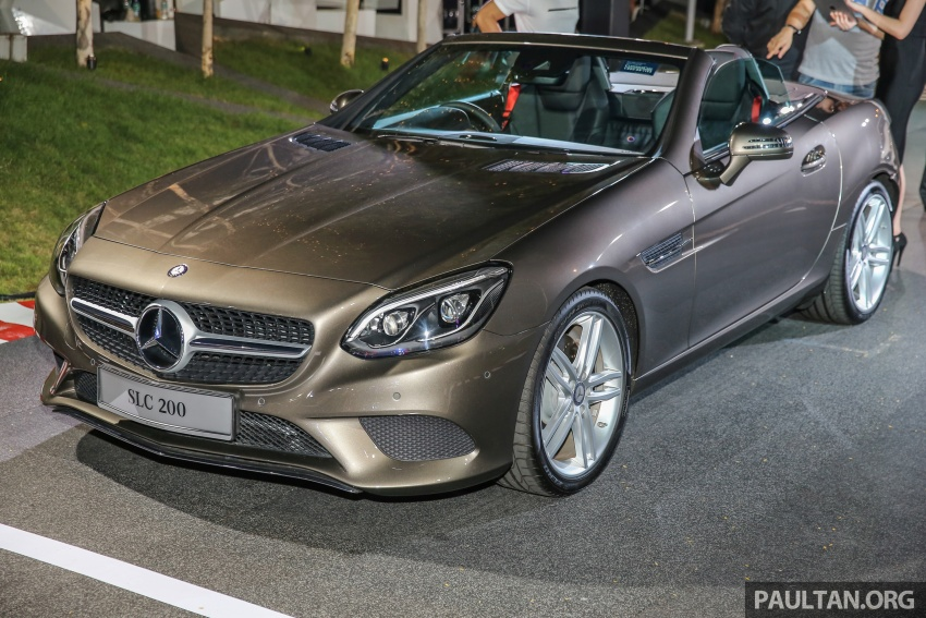 Mercedes-Benz SLC launched in Malaysia – SLC200 at RM398,888, SLC300 AMG Line at RM468,888 Image #556793