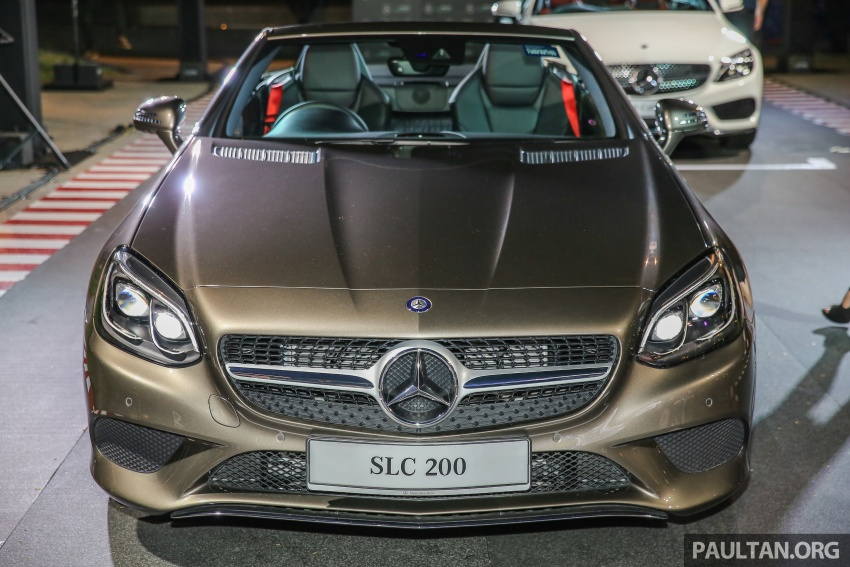 Mercedes-Benz SLC launched in Malaysia – SLC200 at RM398,888, SLC300 AMG Line at RM468,888 Image #556794