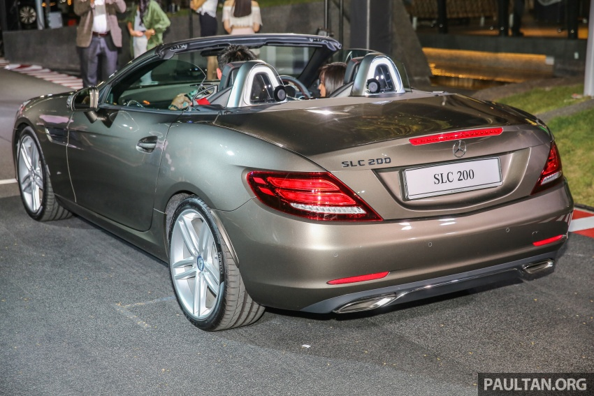 Mercedes-Benz SLC launched in Malaysia – SLC200 at RM398,888, SLC300 AMG Line at RM468,888 Image #556796