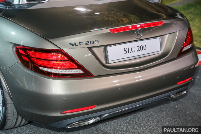 Mercedes-Benz SLC launched in Malaysia – SLC200 at RM398,888, SLC300 AMG Line at RM468,888 Image #556799