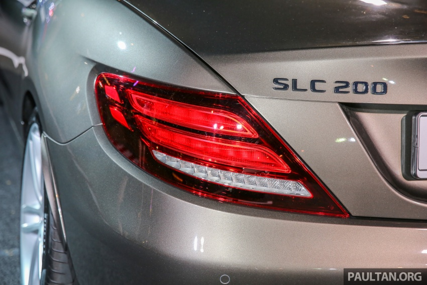 Mercedes-Benz SLC launched in Malaysia – SLC200 at RM398,888, SLC300 AMG Line at RM468,888 Image #556800