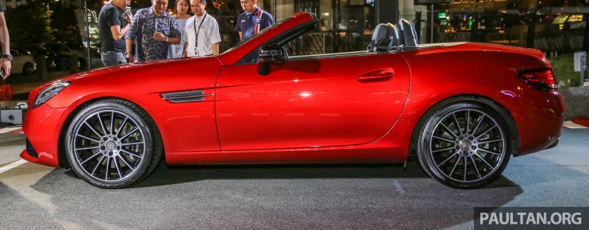Mercedes-Benz SLC launched in Malaysia – SLC200 at RM398,888, SLC300 AMG Line at RM468,888 Image #556817