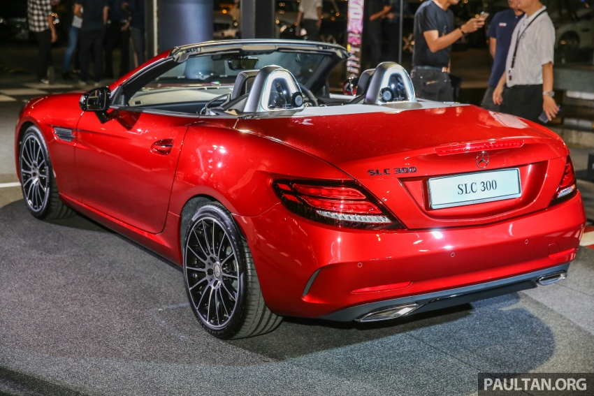 Mercedes-Benz SLC launched in Malaysia – SLC200 at RM398,888, SLC300 AMG Line at RM468,888 Image #556818