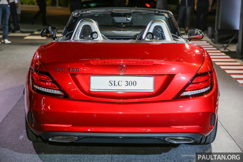 Mercedes-Benz SLC launched in Malaysia – SLC200 at RM398,888, SLC300 AMG Line at RM468,888 Image #556819