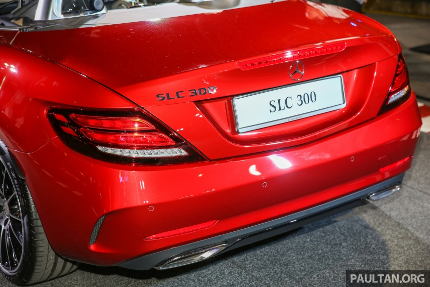 Mercedes-Benz SLC launched in Malaysia – SLC200 at RM398,888, SLC300 AMG Line at RM468,888 Image #556822
