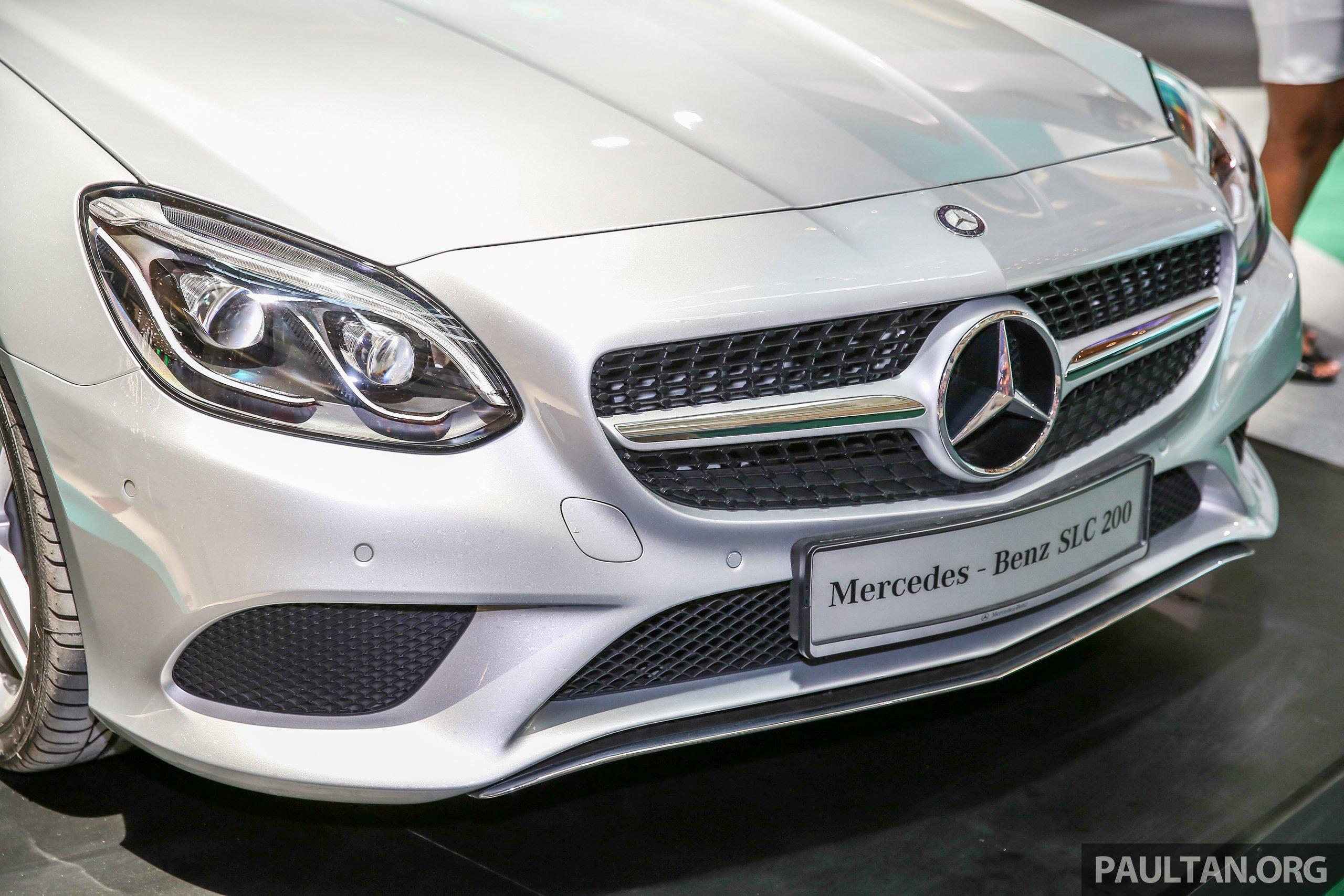 Mercedes-Benz SLC 200 diprebiu di Malaysia Paul Tan ...