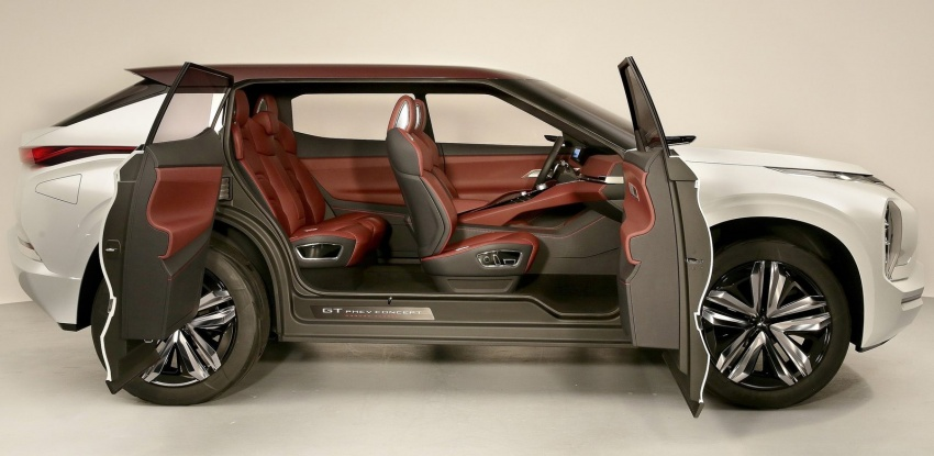 Mitsubishi GT-PHEV Concept – previews next Pajero? Image #556041