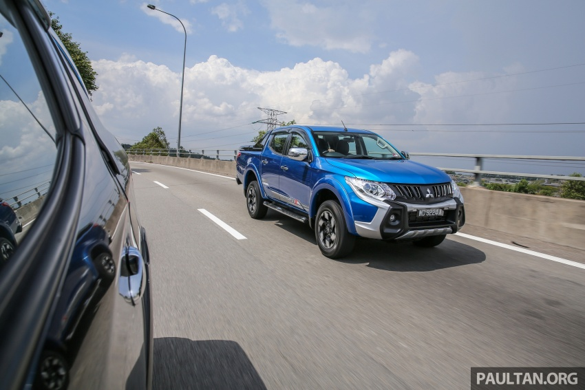 New Mitsubishi Triton 2.4L MIVEC vs old 2.5L DI-D – how much more economical is the new diesel engine? Image #556065