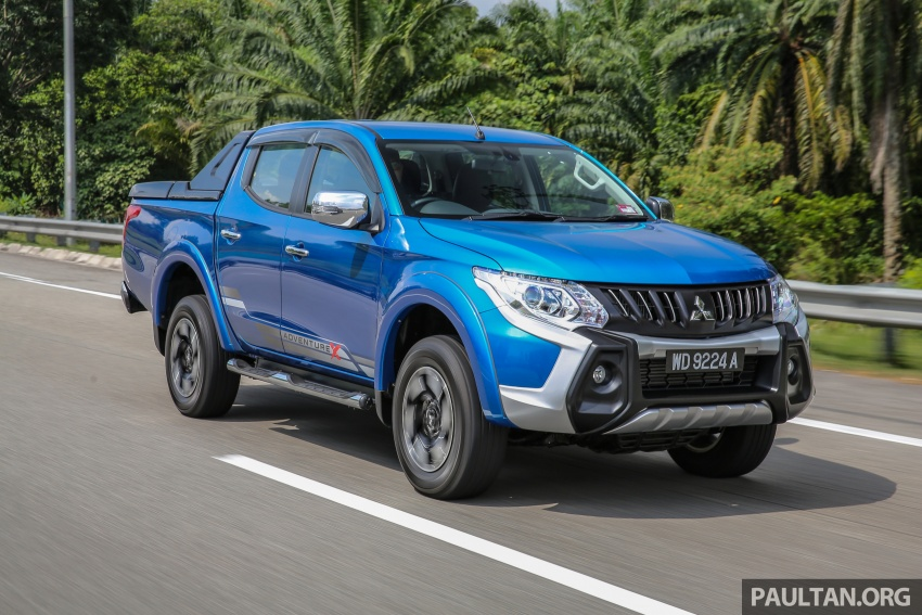New Mitsubishi Triton 2.4L MIVEC vs old 2.5L DI-D – how much more economical is the new diesel engine? Image #556066