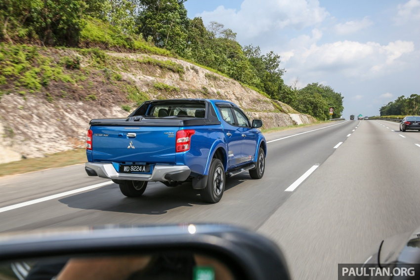 New Mitsubishi Triton 2.4L MIVEC vs old 2.5L DI-D – how much more economical is the new diesel engine? Image #556067