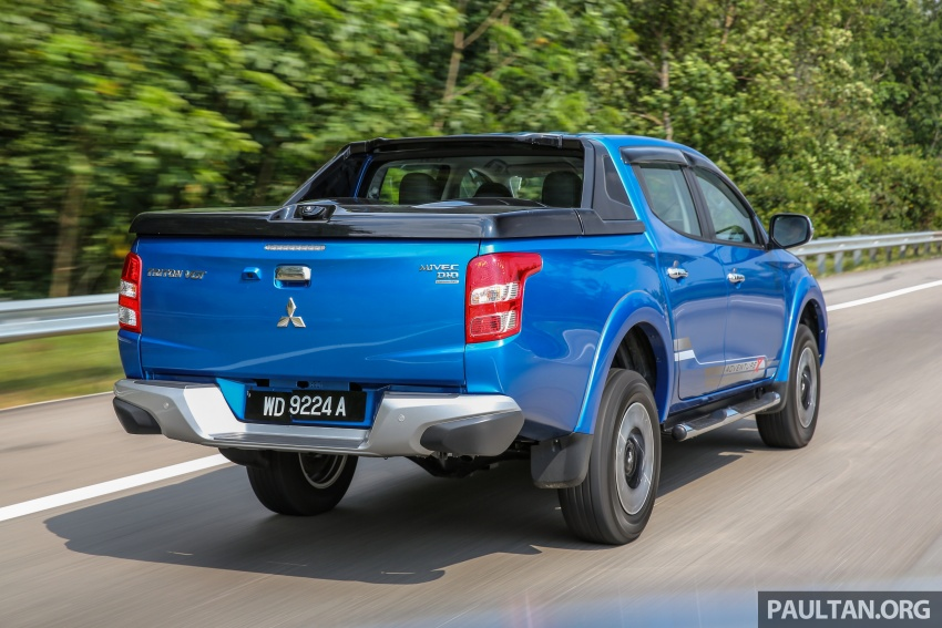 New Mitsubishi Triton 2.4L MIVEC vs old 2.5L DI-D – how much more economical is the new diesel engine? Image #556068