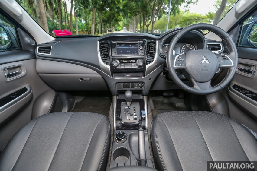 New Mitsubishi Triton 2.4L MIVEC vs old 2.5L DI-D – how much more economical is the new diesel engine? Image #556074