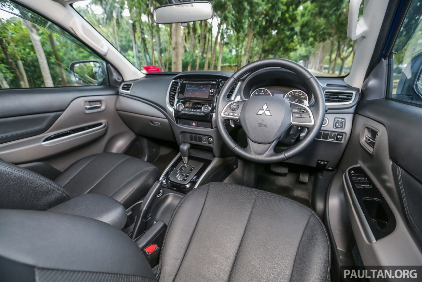 New Mitsubishi Triton 2.4L MIVEC vs old 2.5L DI-D – how much more economical is the new diesel engine? Image #556075