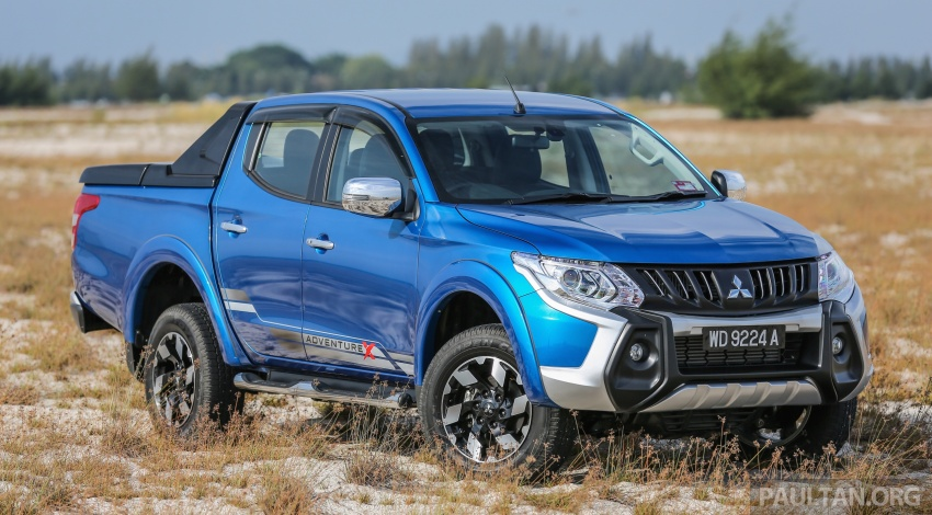 New Mitsubishi Triton 2.4L MIVEC vs old 2.5L DI-D – how much more economical is the new diesel engine? Image #556144