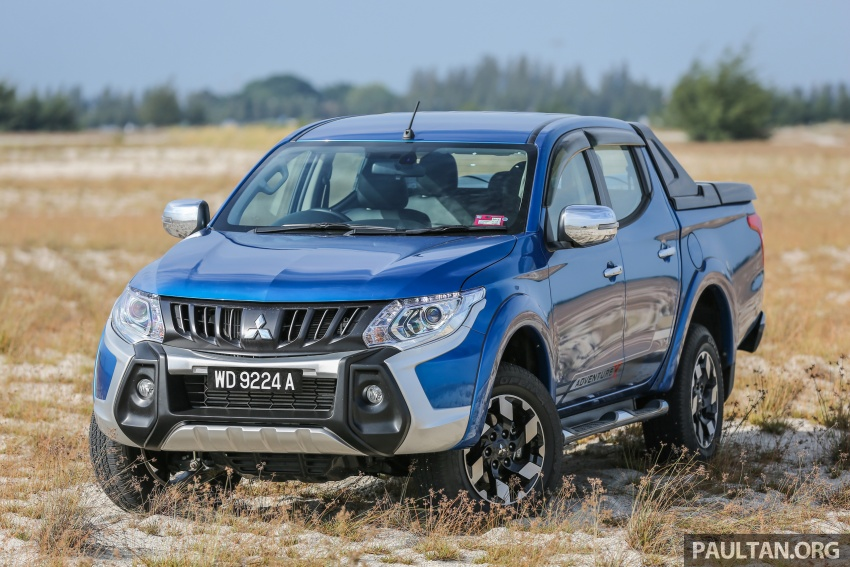 New Mitsubishi Triton 2.4L MIVEC vs old 2.5L DI-D – how much more economical is the new diesel engine? Image #556146