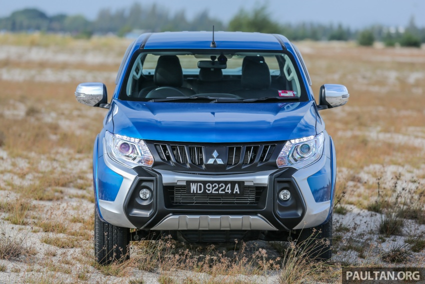 New Mitsubishi Triton 2.4L MIVEC vs old 2.5L DI-D – how much more economical is the new diesel engine? Image #556148