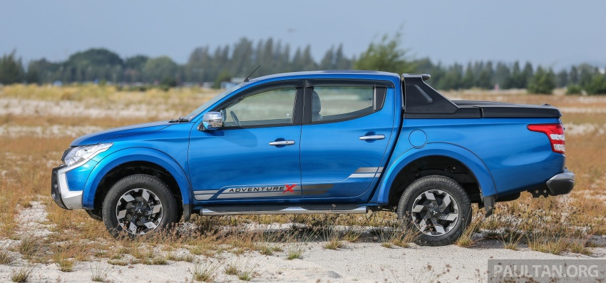 New Mitsubishi Triton 2.4L MIVEC vs old 2.5L DI-D – how much more economical is the new diesel engine? Image #556149