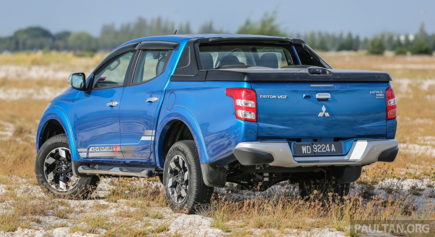 New Mitsubishi Triton 2.4L MIVEC vs old 2.5L DI-D – how much more economical is the new diesel engine? Image #556150