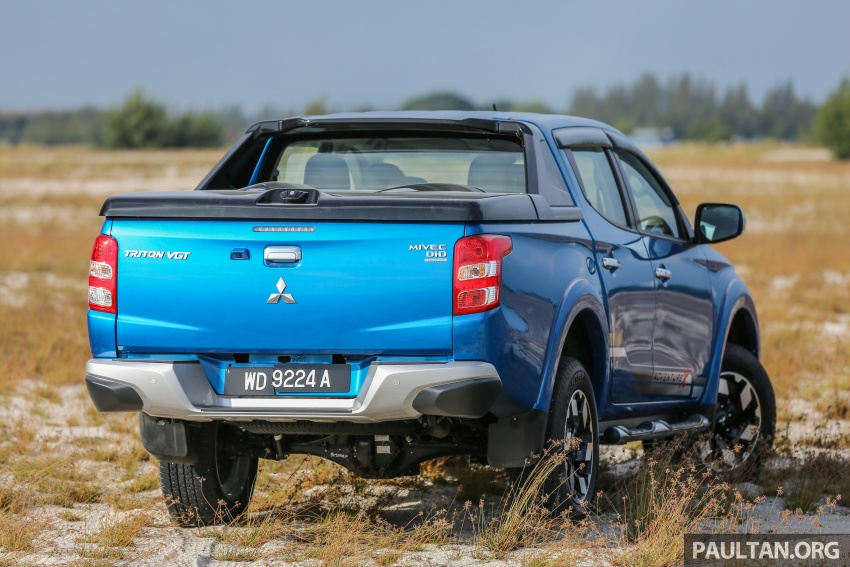 New Mitsubishi Triton 2.4L MIVEC vs old 2.5L DI-D – how much more economical is the new diesel engine? Image #556153