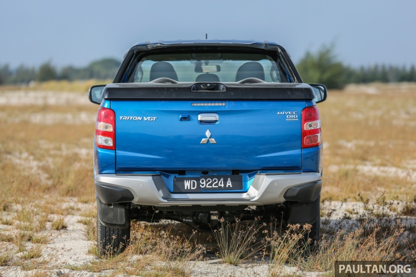 New Mitsubishi Triton 2.4L MIVEC vs old 2.5L DI-D – how much more economical is the new diesel engine? Image #556154