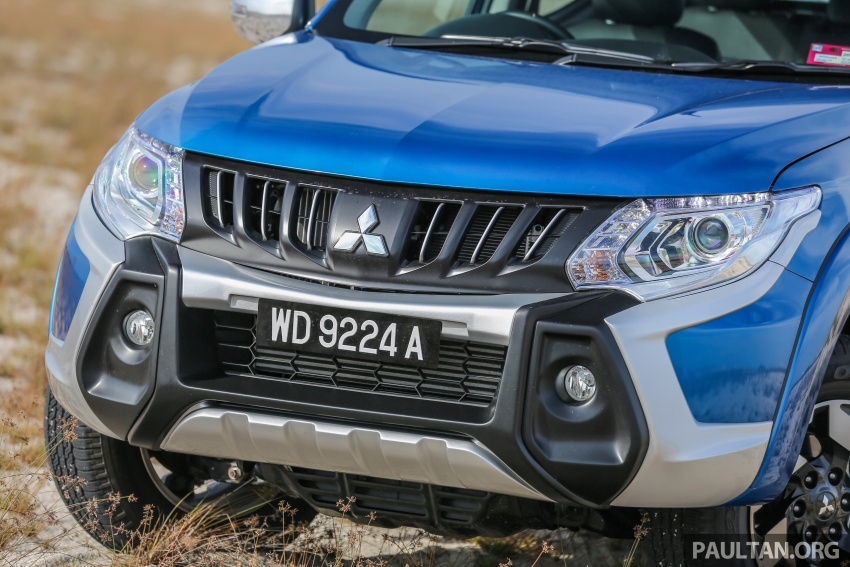 New Mitsubishi Triton 2.4L MIVEC vs old 2.5L DI-D – how much more economical is the new diesel engine? Image #556156
