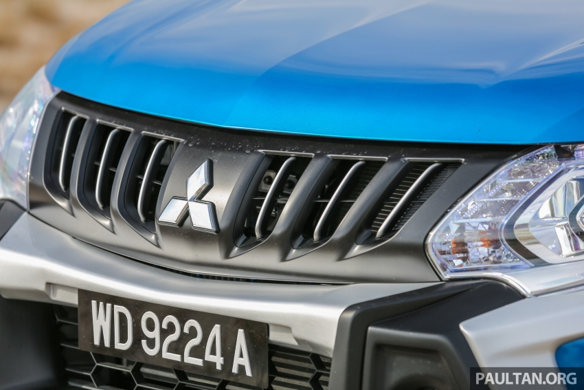 New Mitsubishi Triton 2.4L MIVEC vs old 2.5L DI-D – how much more economical is the new diesel engine? Image #556159