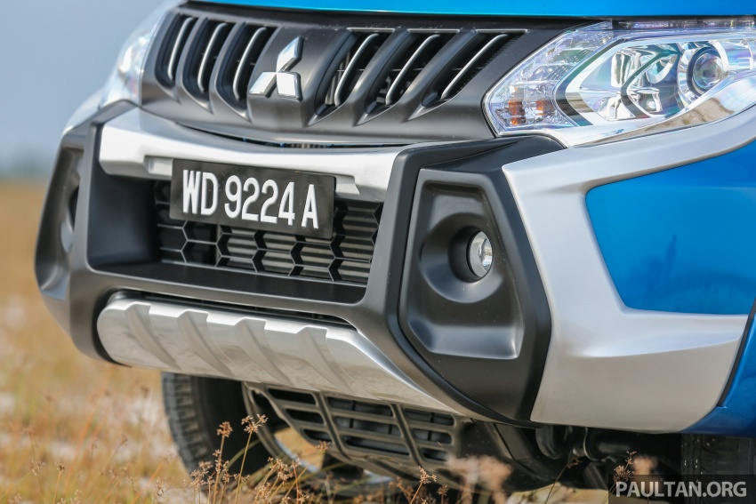 New Mitsubishi Triton 2.4L MIVEC vs old 2.5L DI-D – how much more economical is the new diesel engine? Image #556161