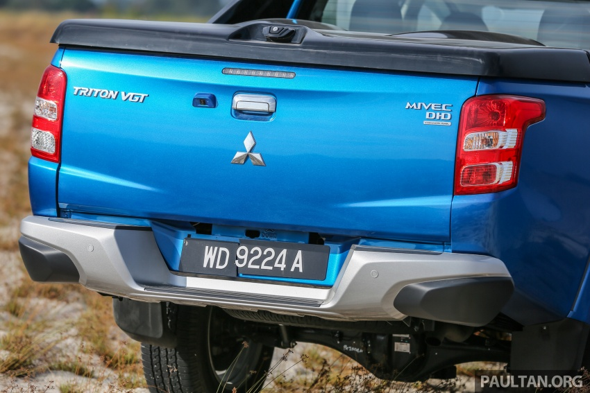 New Mitsubishi Triton 2.4L MIVEC vs old 2.5L DI-D – how much more economical is the new diesel engine? Image #556164