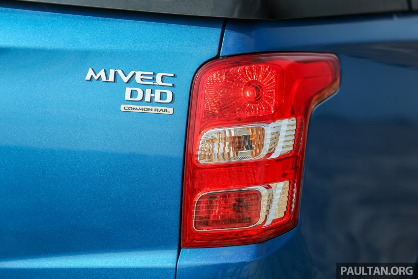 New Mitsubishi Triton 2.4L MIVEC vs old 2.5L DI-D – how much more economical is the new diesel engine? Image #556166