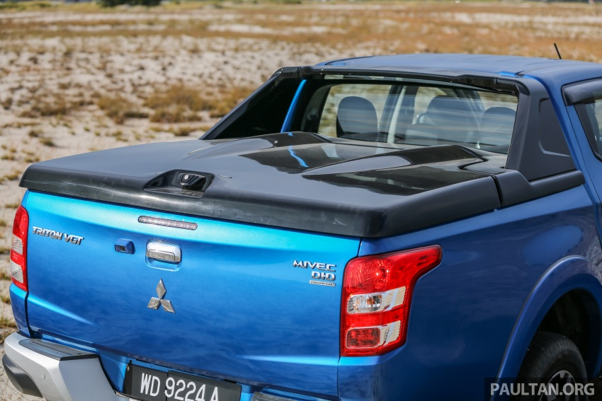 New Mitsubishi Triton 2.4L MIVEC vs old 2.5L DI-D – how much more economical is the new diesel engine? Image #556169