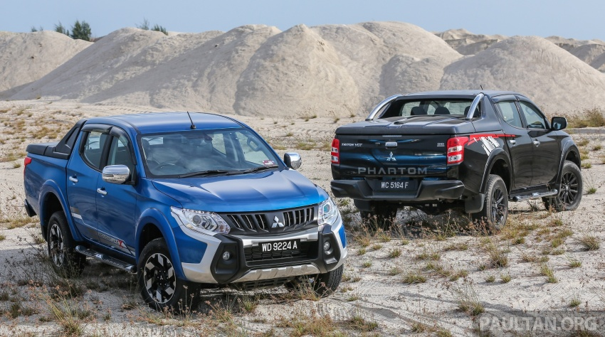 New Mitsubishi Triton 2.4L MIVEC vs old 2.5L DI-D – how much more economical is the new diesel engine? Image #556171