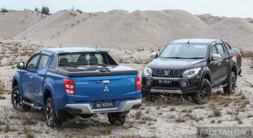 New Mitsubishi Triton 2.4L MIVEC vs old 2.5L DI-D – how much more economical is the new diesel engine? Image #556172