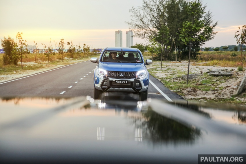 New Mitsubishi Triton 2.4L MIVEC vs old 2.5L DI-D – how much more economical is the new diesel engine? Image #556173