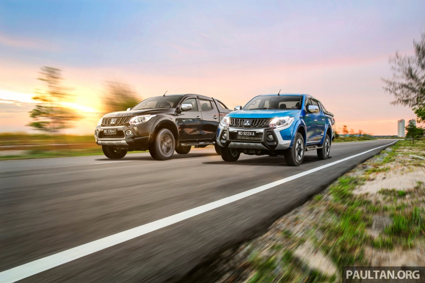 New Mitsubishi Triton 2.4L MIVEC vs old 2.5L DI-D – how much more economical is the new diesel engine? Image #556175