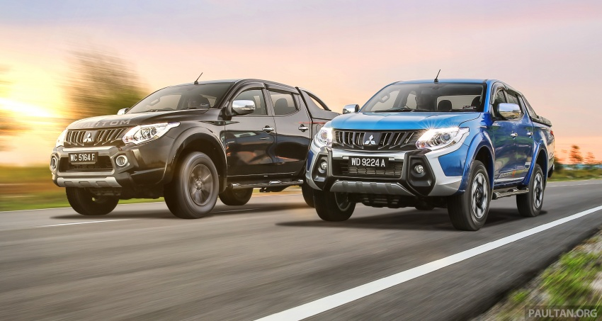 New Mitsubishi Triton 2.4L MIVEC vs old 2.5L DI-D – how much more economical is the new diesel engine? Image #556177