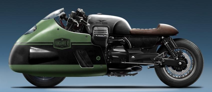 Moto Guzzi Vanguard jeans V8 custom replica Image #545748