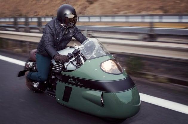 Moto Guzzi Vanguard V8 custom - 4